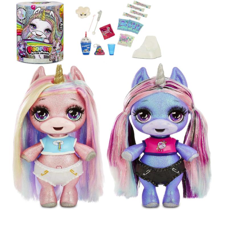 Пупси Единорог блестящий Poopsie Glitter Unicorn Surprise 561132