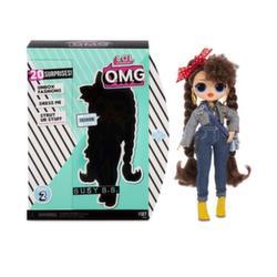 Кукла Лол большая LOL Surprise O.M.G. Busy B.B. 2 волна 20 сюрпризов 565116