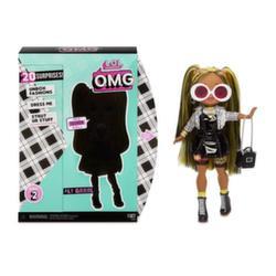 Кукла Лол большая LOL Surprise O.M.G. Alt Grrrl 2 волна 20 сюрпризов 565123
