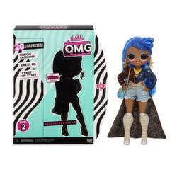 Кукла Лол большая LOL Surprise O.M.G. Miss Independent 2 волна 20 сюрпризов 565130