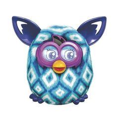 Ферби Бум Furby Boom Blue Diamonds Plush Toy A6848/A4343