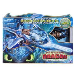 Dragons DreamWorks Дракон Большой Огнедышащий Беззубик  66555