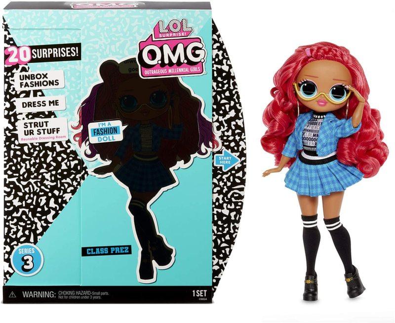 Кукла LOL Surprise OMG Class Prez 3 серия 567202