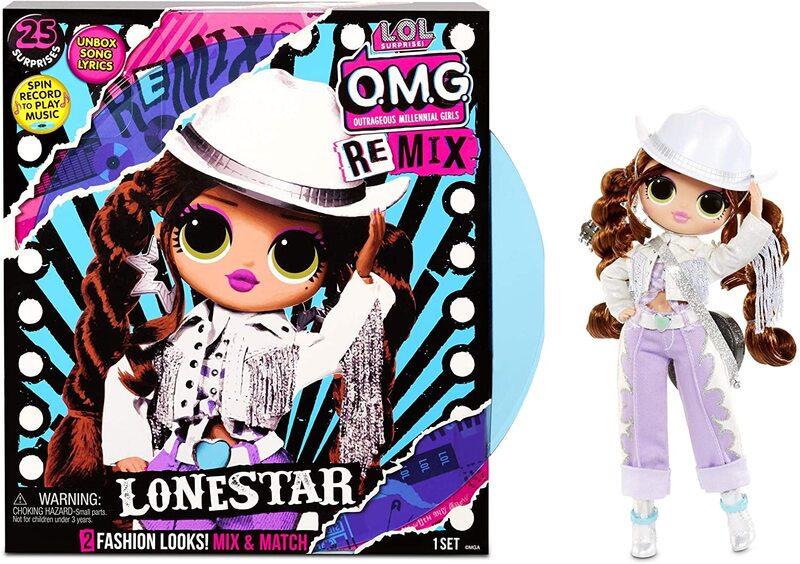Кукла LOL OMG Remix Lonestar с музыкой 567233