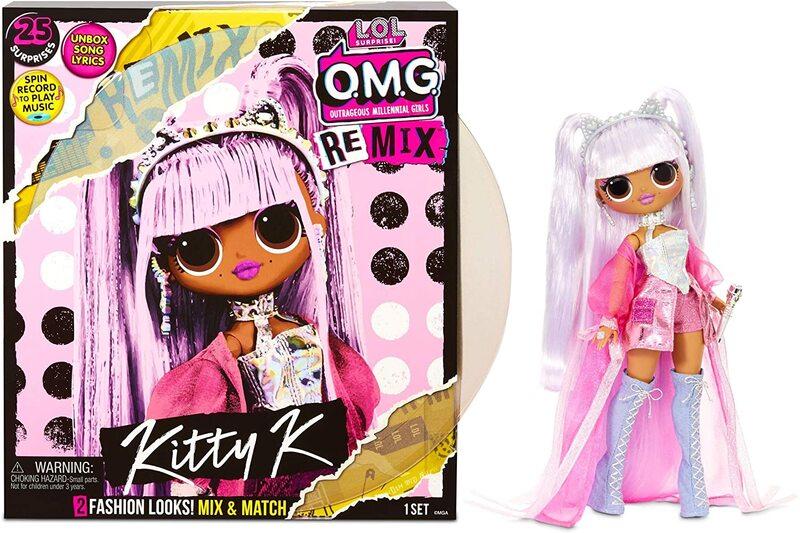 Кукла LOL OMG Remix Kitty K с музыкой 25 сюрпризов 567240
