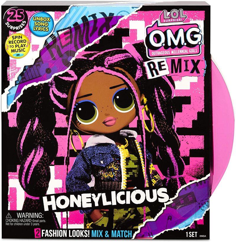 Кукла LOL OMG Remix Honeylicious с музыкой 25 сюрпризов 567264