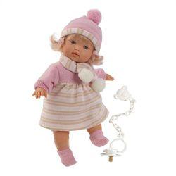 Llorens кукла пупс 33 см L 33304