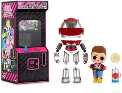 Кукла LOL surprise Boys Arcade Heroes Аркадный мальчик