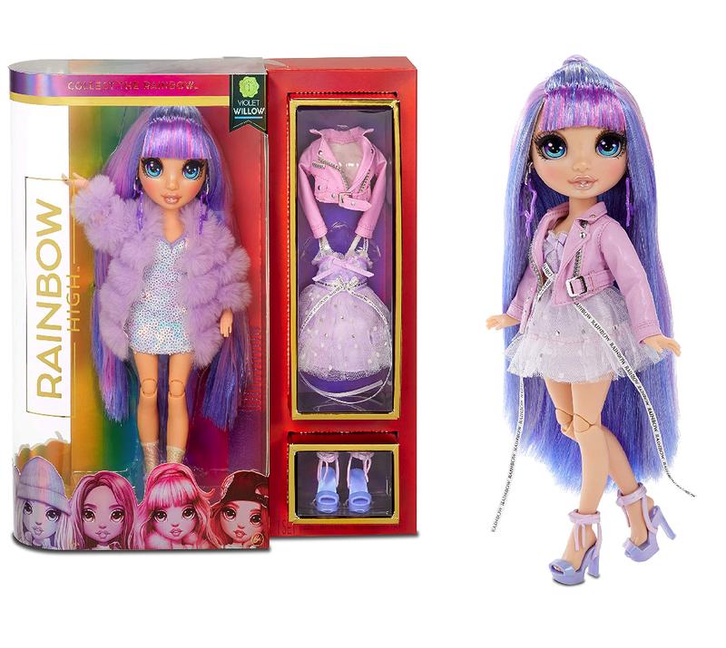 Кукла Rainbow High Surprise Violet Willow + 2 комплекта одежды 569602