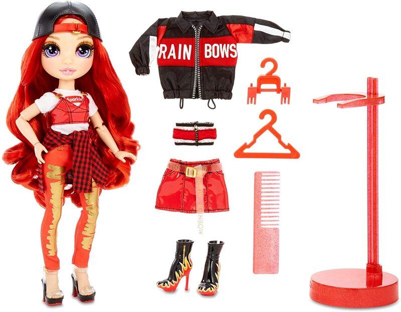 Кукла Rainbow High Surprise Ruby Anderson + 2 комплекта одежды 569619