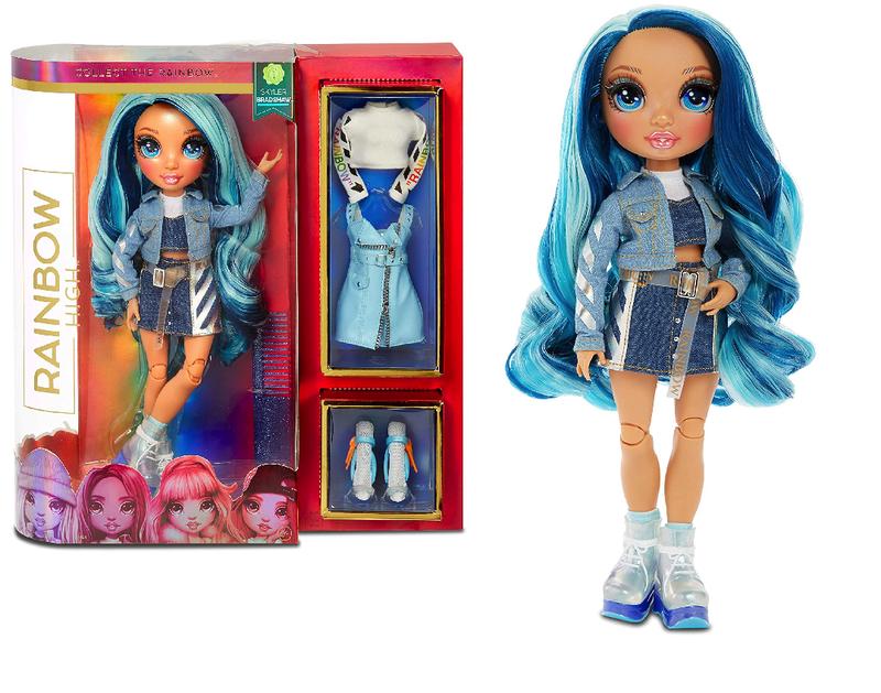 Кукла Rainbow High Surprise Skyler Bradshaw + 2 комплекта одежды 569633