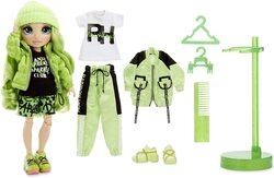 Кукла Surprise Rainbow High Jade Hunter + 2 комплекта одежды 569664