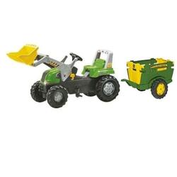 Rolly Toys трактор педальный rollyJunior RT с ковшом и прицепом от 3-х лет 811465/122103