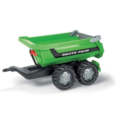 Rolly Toys прицеп для педального трактора rollyHalfpipe Trailer Deutz 122240