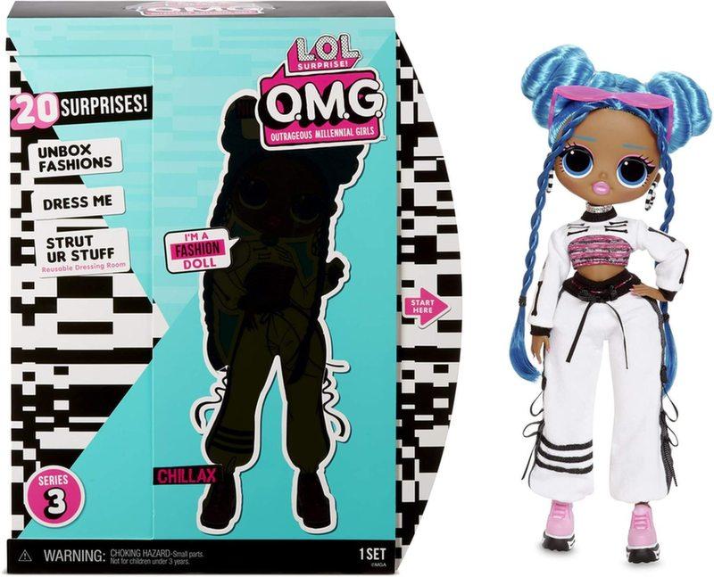 Кукла LOL Surprise OMG Chillax 3 серия 570165