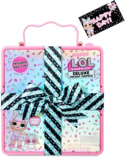 LOL Surprise Deluxe Present Подарочный набор Лол розовый 570691