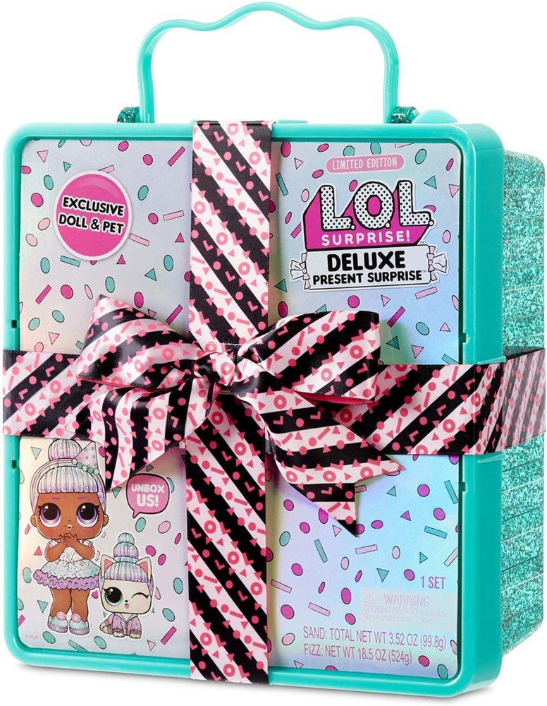 LOL Surprise Deluxe Подарочный набор Лол бирюзовый 570707