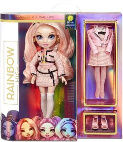 Кукла Rainbow High Surprise Bella Parker + 2 комплекта одежды 570738