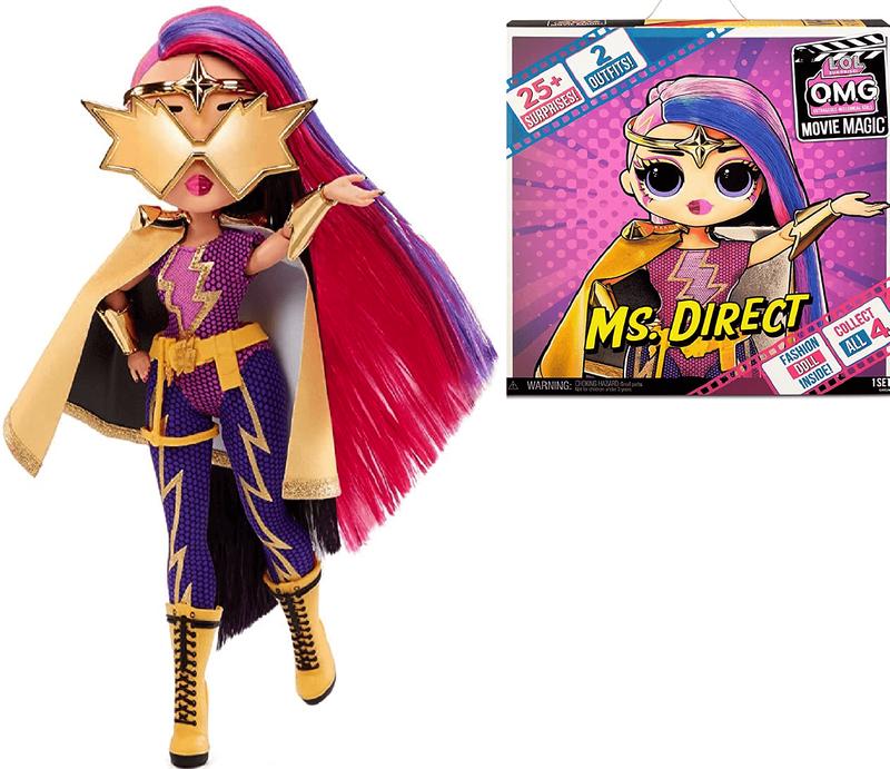 Кукла LOL Surprise OMG Movie Magic Ms. Direct 577904