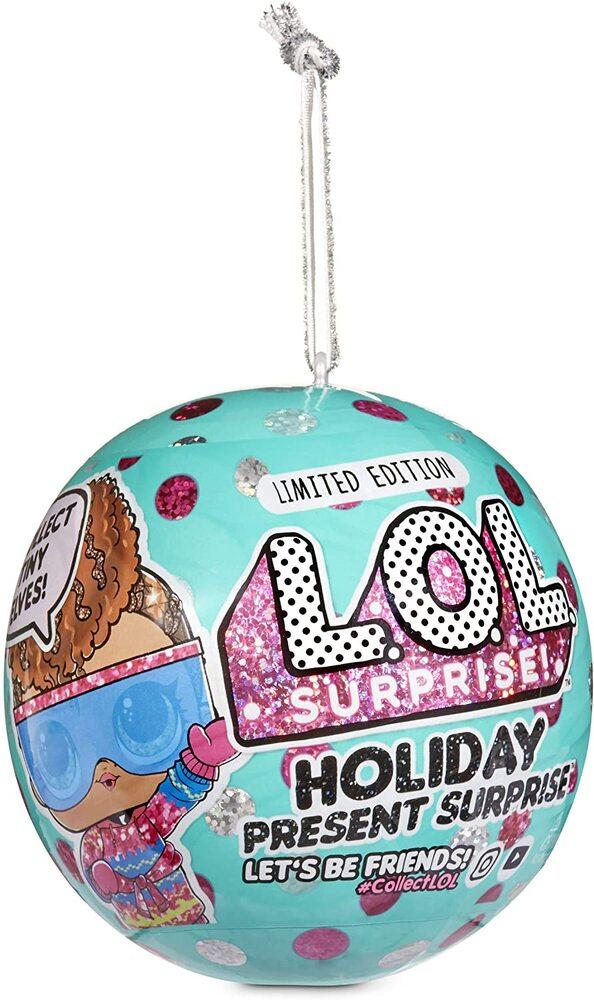 Кукла LOL Surprise Holiday Present 571254