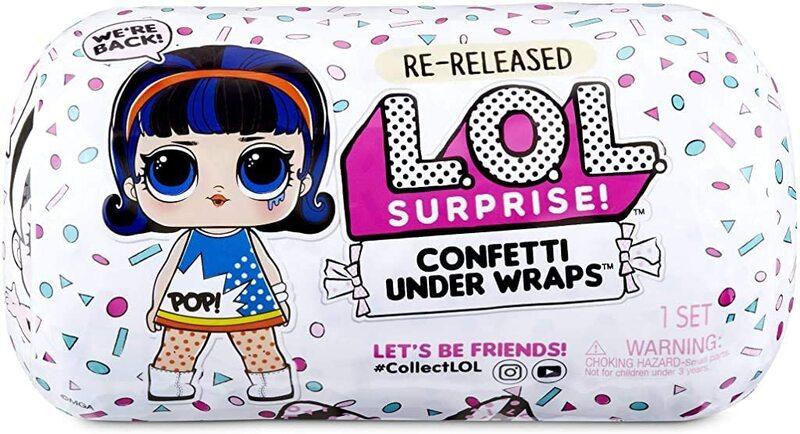 Кукла Лол сюрприз Confetti Under Wraps 571476