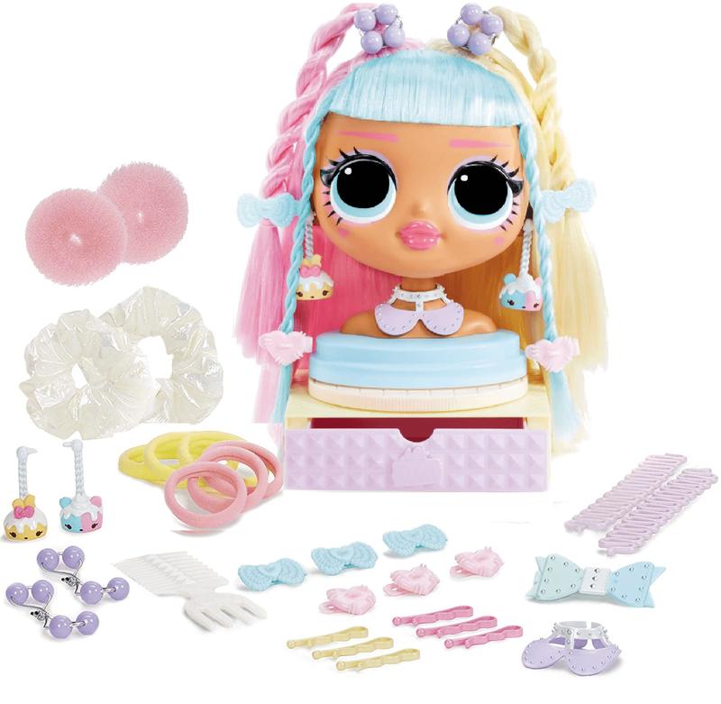 Студия причесок LOL surprise OMG Styling Head Candylicious 572008