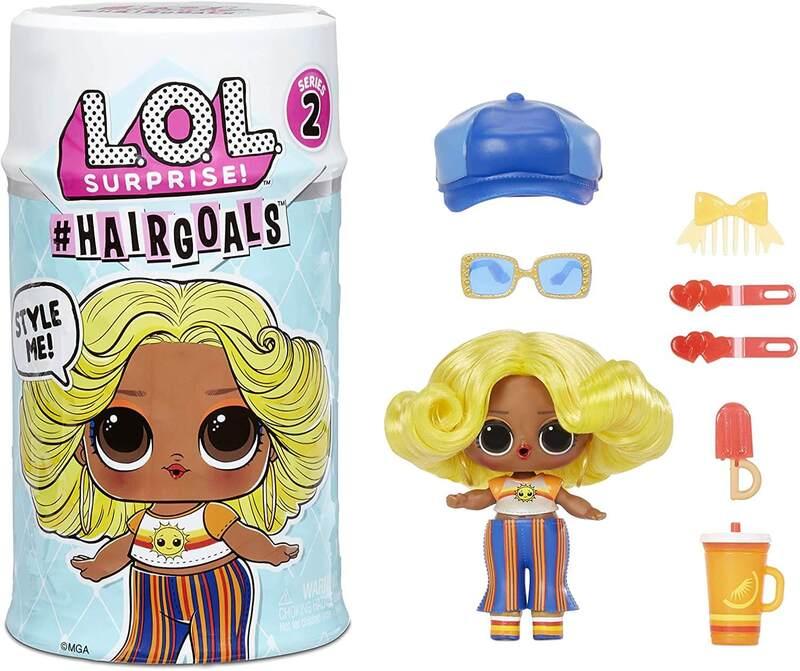 Кукла LOL Surprise Hairgoals Series 2 с волосами 572664