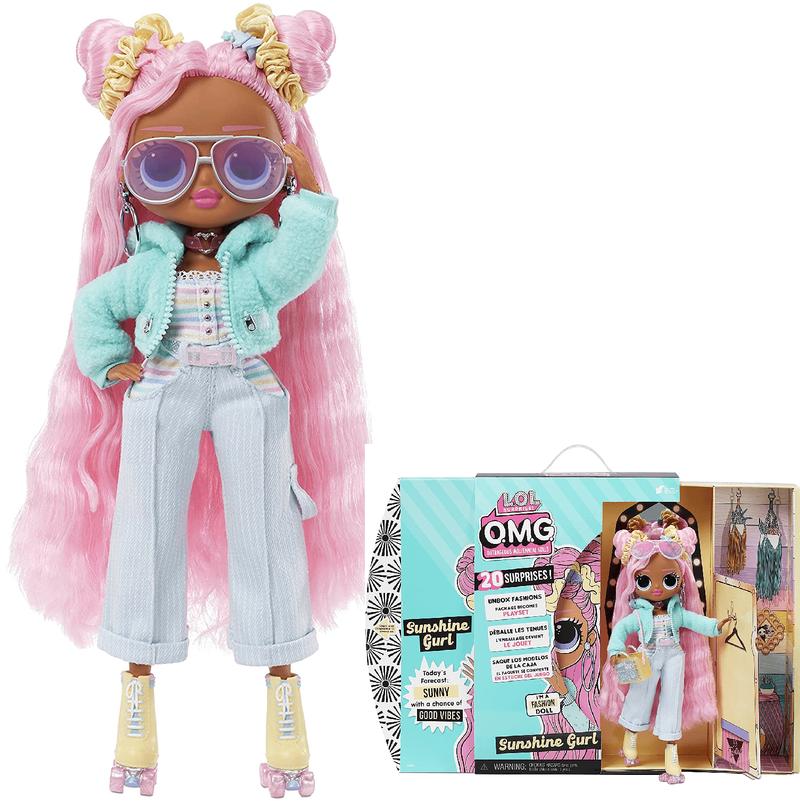 Кукла LOL Surprise OMG Sunshine Gurl 4 серия 572787