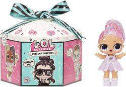 Кукла LOL surprise Present Series 2 c мерцающим знаком зодиака 572824