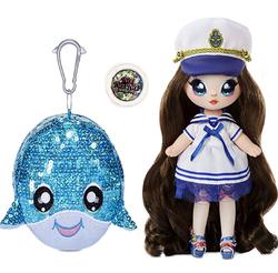 Кукла Na Na Na Surprise Блестящая серия 1 Sparkle - Sailor Blu 573753
