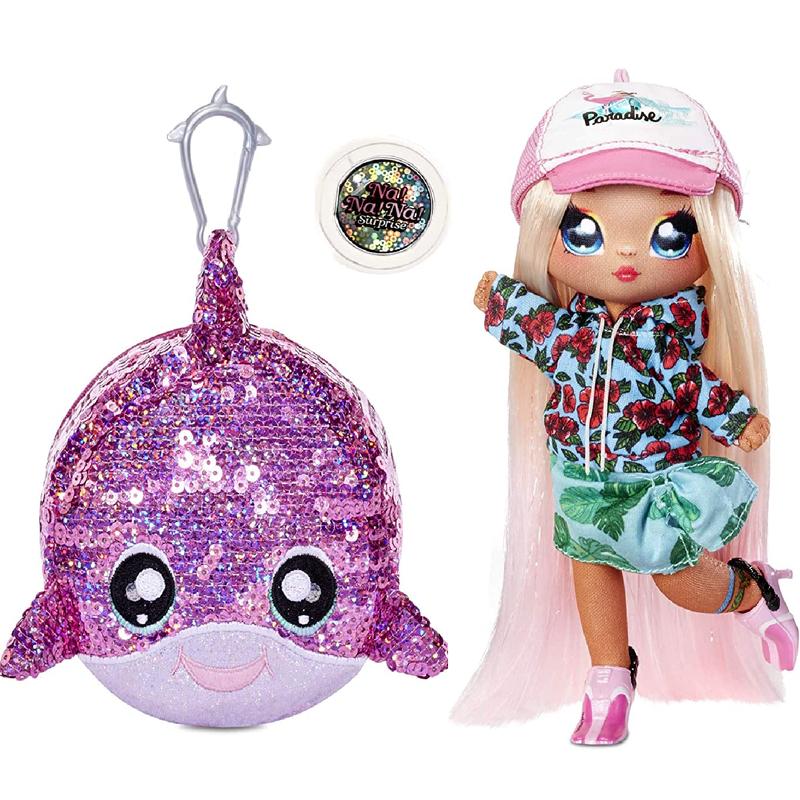 Кукла Na Na Na Surprise Блестящая серия 1 Sparkle - Krysta Splash 573760