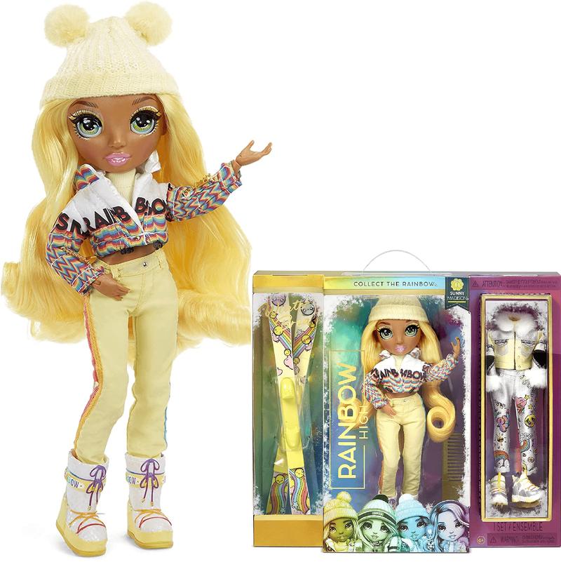 Кукла Rainbow High Winter Break Sunny Madison-Yellow 574774