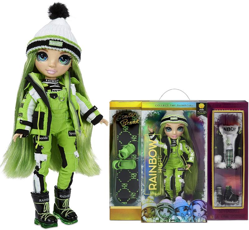 Кукла Rainbow High Winter Break Jade Hunter Green 574781