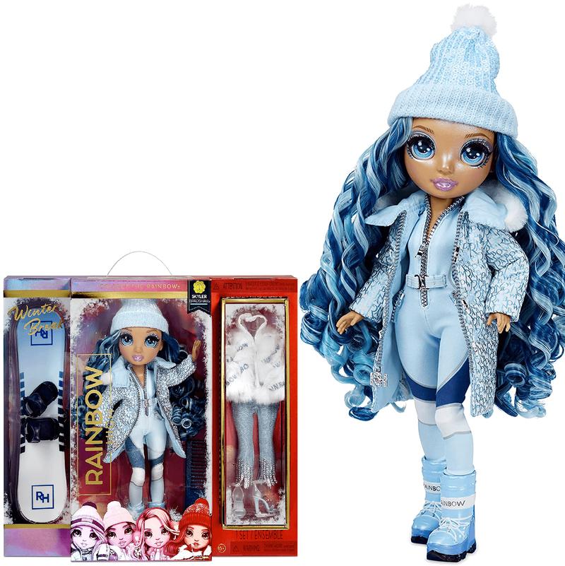Кукла Rainbow High Winter Break Skyler Bradshaw-Blue 574798
