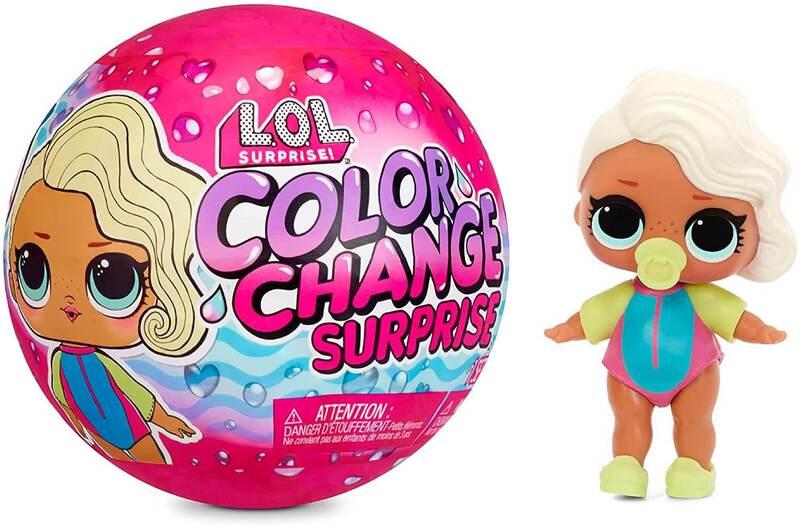 Кукла LOL Surprise Color Change 576341