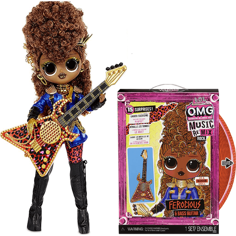Кукла LOL Surprise OMG Remix Rock Ferocious 577591