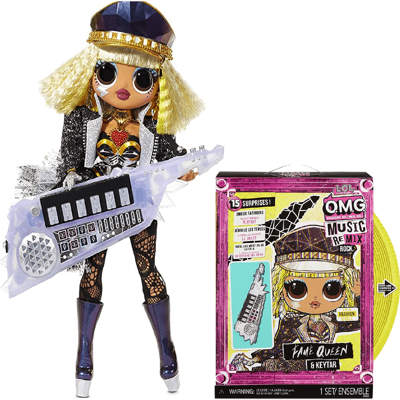 Кукла LOL Surprise OMG Remix Rock Fame Queen 577607