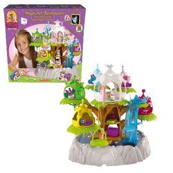 Волшебная деревня лошадок эльфов Филли на дереве Filly 12-88