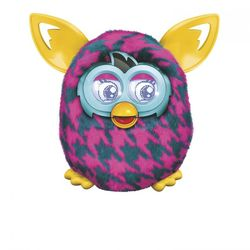 Ферби Бум Furby Boom Гусиные лапки Purple Houndstooth A4342/A6808