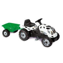 Трактор GM Bull Vache педальный с прицепом Smoby 033352
