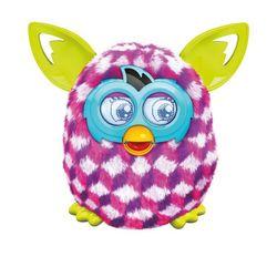 Ферби Бум Furby Boom Pink Cubes Розовые ромбики A4342/A6117