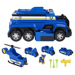 Щенячий патруль большая машина-трансформер Paw Patrol Chase's 5-in-1 Ultimate Police Cruiser 6058329