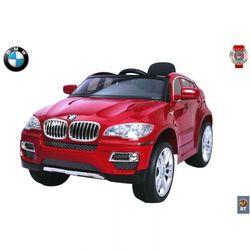 Детский электромобиль BMW X6 12V R/C RT 258 с пультом красный