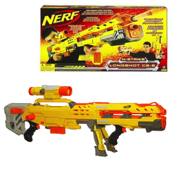 Бластер NERF N-Strike Elite Longshot CS-6 61983