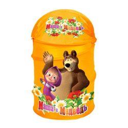 Корзина для игрушек Маша и Медведь Играем вместе XDP-1792-R