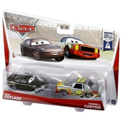 Тачки машинки Cup Die-Cast Bob Cutlass and Darrell Cartrip Y0506/BHL50