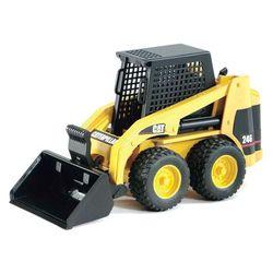 Машина Bruder Мини-погрузчик колёсный CAT с ковшом 02-431