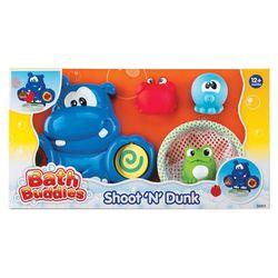 Набор игрушек для ванной (бегемот, корзина, 3 игрушки)  Keenway 32201