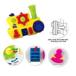 Игрушка Лодка для игры в ванной Bath Boat Kidsmart 25037