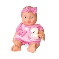 Кукла Малышка с мишуткой 32,5 см Весна В200